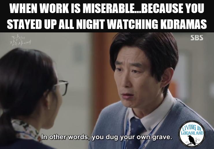While You Were Sleeping Episodes 7 8 0 Living In Loganland Kdramameme Koreandrama Kdrama Funny Korean Drama Quotes Kdrama Memes