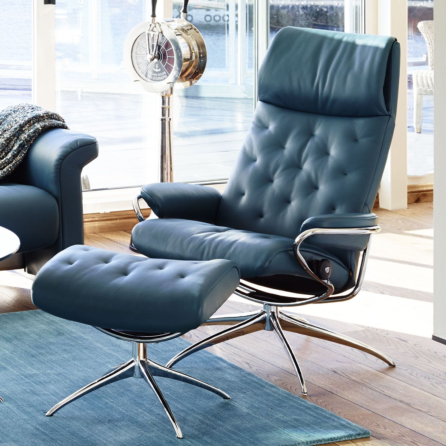Stressless Sessel City High Back Stressless Metro High Back Mit Hocker Einrichten