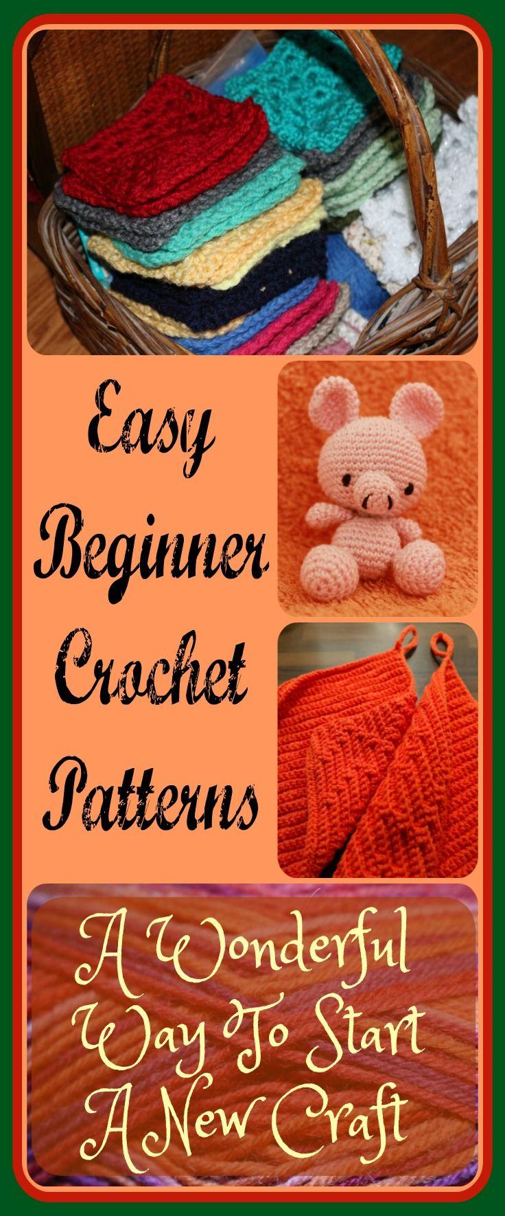Easy beginner crochet patterns a wonderful way to start a new easy beginner crochet patterns a wonderful way to start a new craft bankloansurffo Gallery
