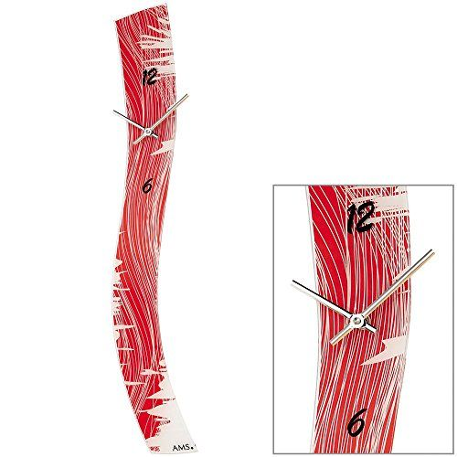 Quarz-Wanduhr Farbe: Rot AMS http://www.amazon.de/dp/B00JIMJZ16/?m=A37R2BYHN7XPNV