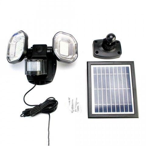 Solar Security Light Signaller 56 Smd Superbright Leds Lampy