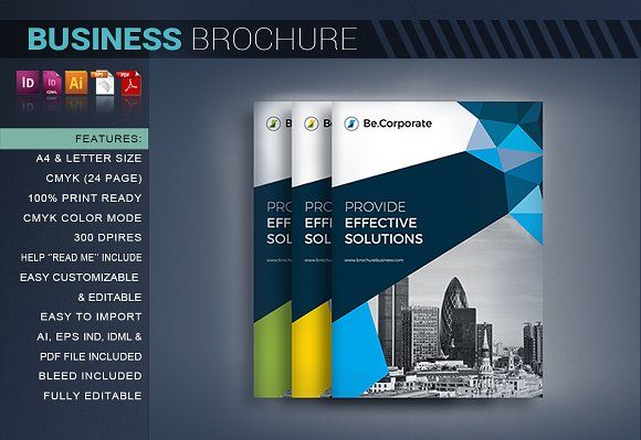 Corporate Brochure By Artico On Graphicsauthor  Templates