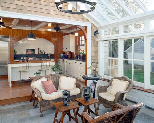 Delicieux Sunroom Off Kitchen Design Ideas And Get Ideas To Remodel Your Sunroom With  Appealing Appearance 2