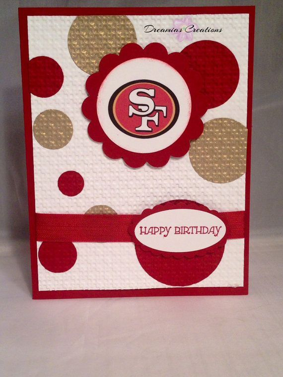 49er Birthday Wishes Google Search Stampin Up Birthday Cards