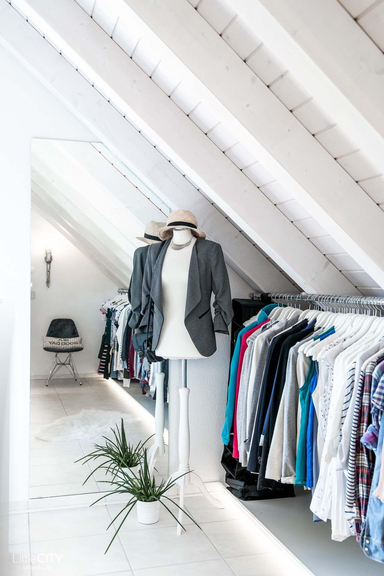 Selbstgebauter Begehbarer Kleiderschrank Ordnung Interior
