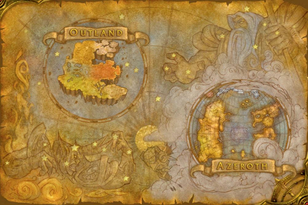 World of warcraft map google search mystical magical maps and world of warcraft map google search gumiabroncs Gallery