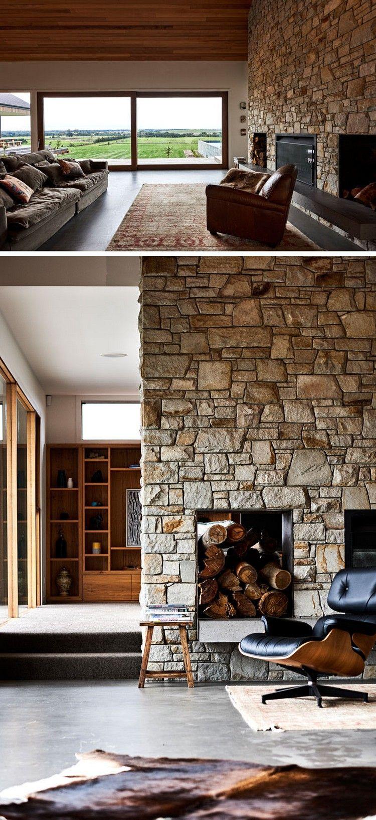 Am Nagement Int Rieur Maison Un Ranch Au Style Moderne Et Rustique