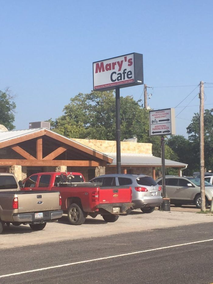 Next time you're anywhere near Strawn and get a hankering for a delicious, Texas-sized chicken-fried steak, Mary's is the place to go.