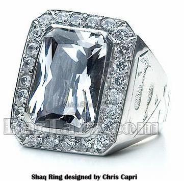 e3e1568ff74230 @Shaq custom made #Superman #Ring made by @CapriJewelryInc  www.CapriJewelryInc.com