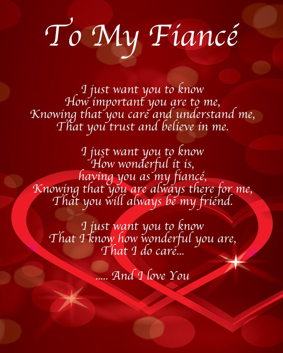 Happy birthday fiance poem - Perfect Words To Express