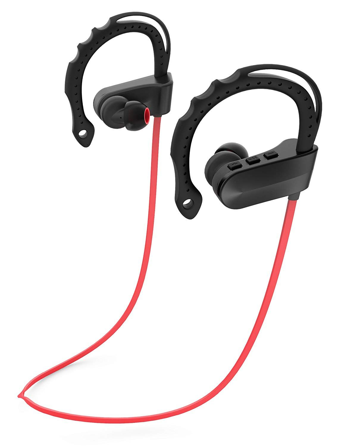 e5d23c92d45 Amazon.com: NEEDOO Bluetooth Headphones,Wireless Headset Stereo Bluetooth  V4.1 Earbuds Sweatproof Sports Earphones with Built in Microphone for iPhone  iPad ...