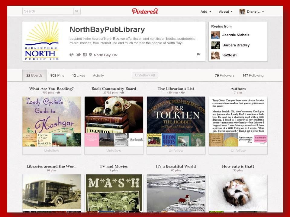 ACRL2013: Public Library - North Bay Pub Library, North Bay, ON [10/25/12]
