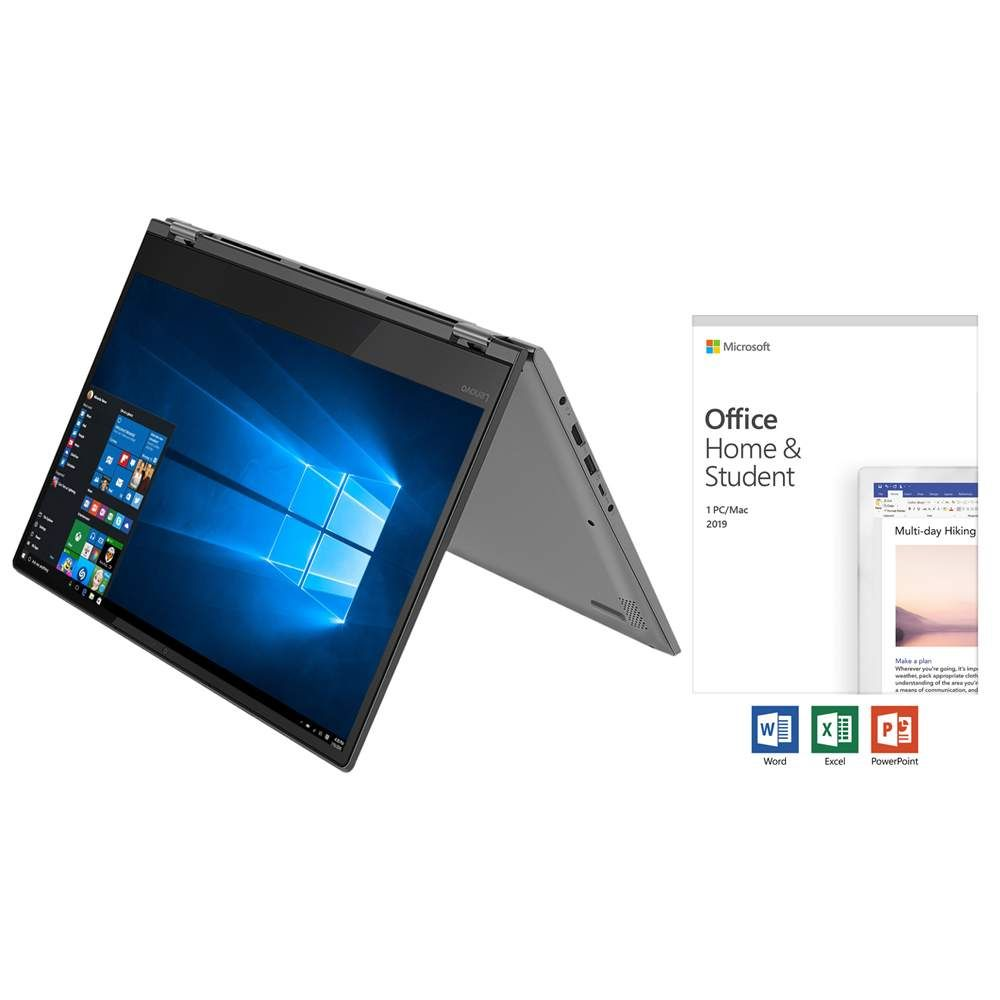 Lenovo Ideapad Flex 14 2 In 1 Laptop Ryzen 3 4gb Ram 128gb Ssd With Microsoft Office Home And Student 2019 Fo Lenovo Ideapad Microsoft Office Home Lenovo