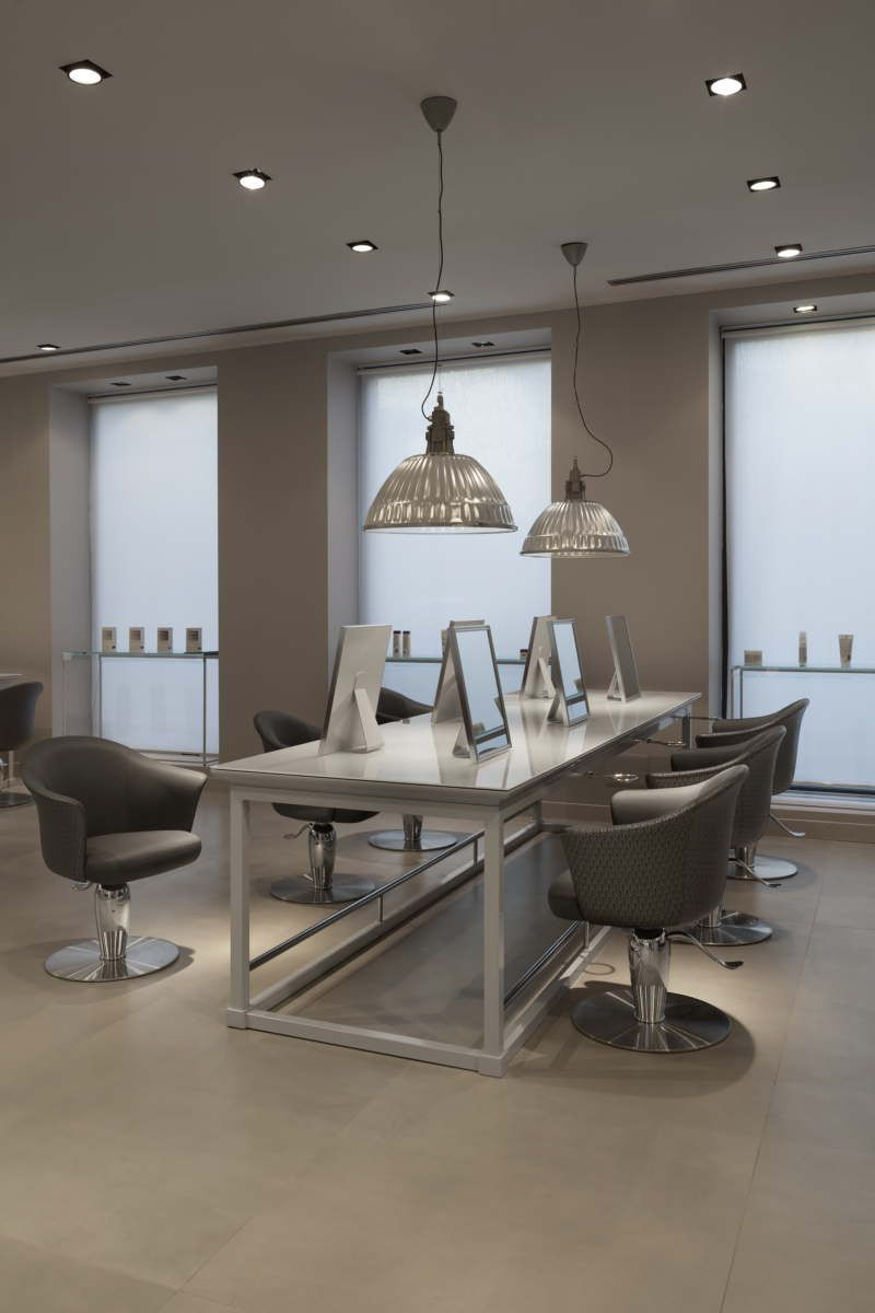 Maletti Group Interior designs a vintage barbershop for Cosmoprof 2015