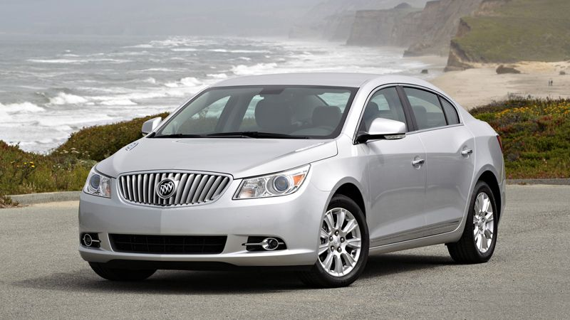 Silver 2013 Buick Lacrosse Touring Compared 2012 Buick Lacrosse Buick Lacrosse Buick