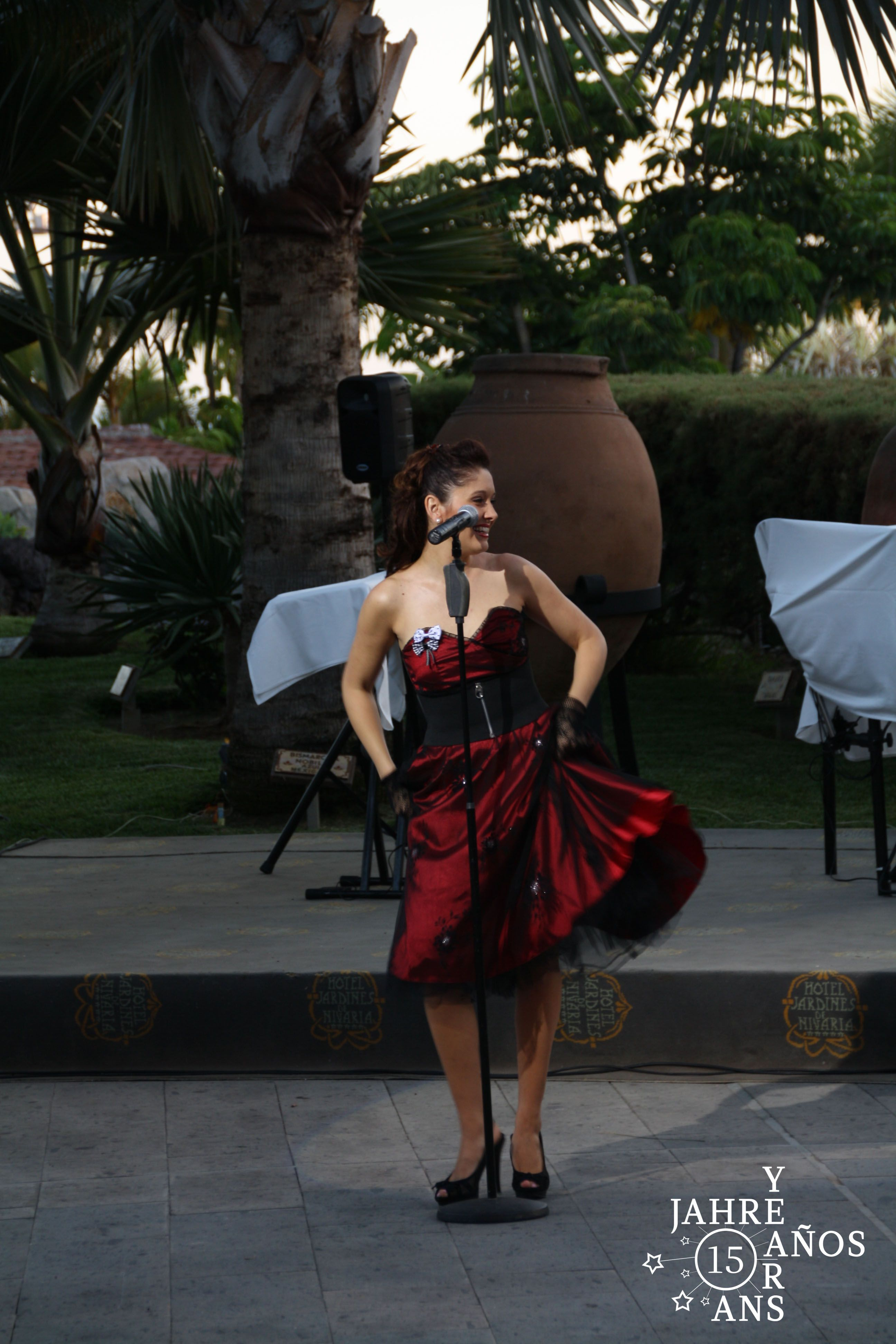 The show for the Anniversary of Jardines de Nivaria   #Tenerife#hotel#Costaadeje#hotellujo