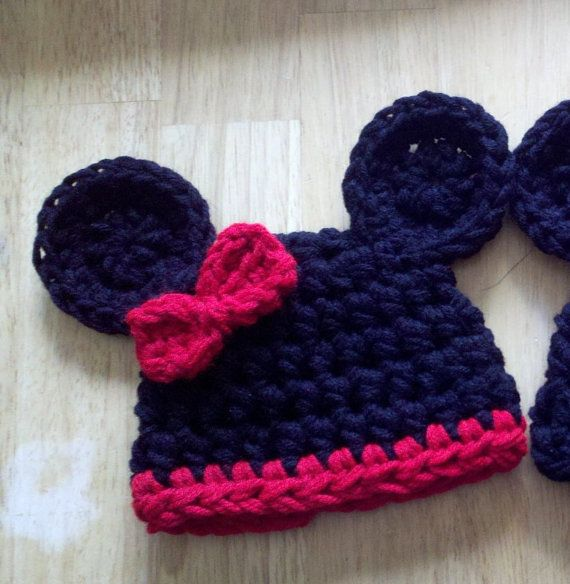 minnie mouse | Disney Everything | Pinterest | Kindermütze häkeln ...