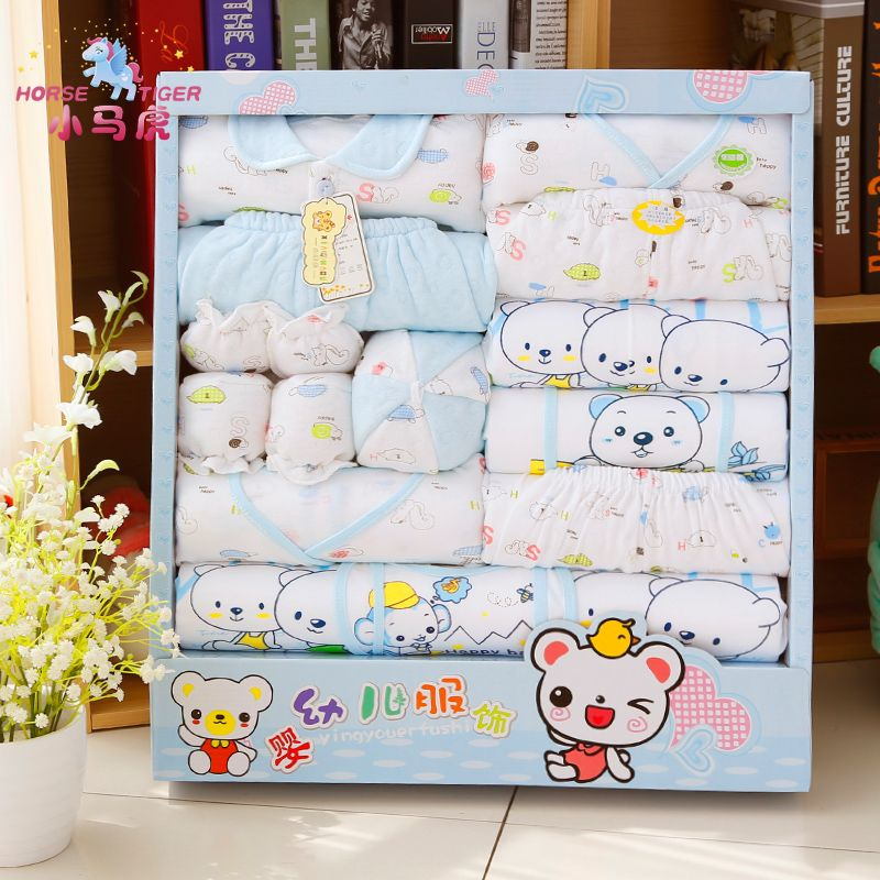 Baby clothes 100% cotton newborn gift box spring and autumn winter baby supplies newborn baby Infant Clothes gift set