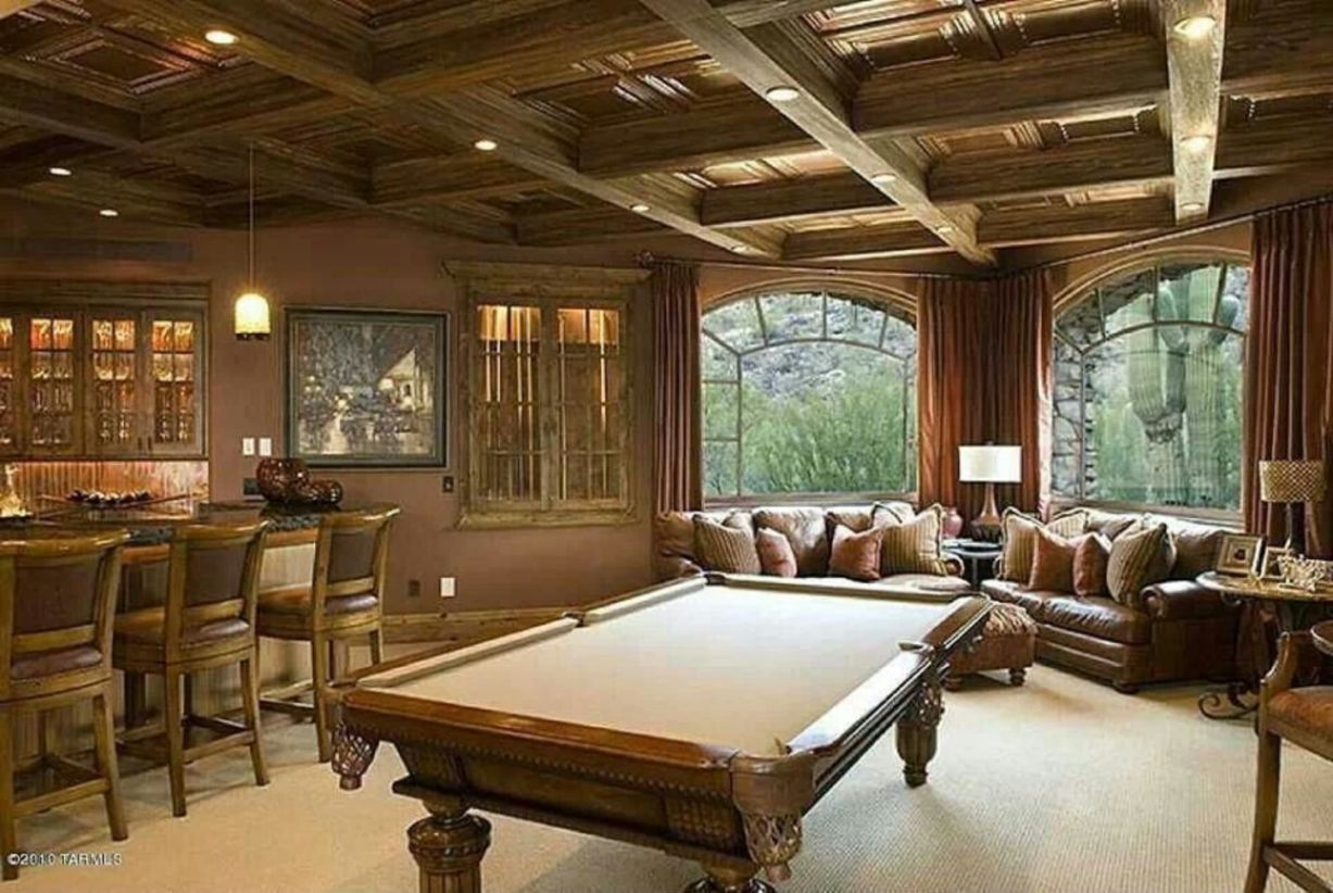 47 Impressive Masculine Game Room Decor Ideas images