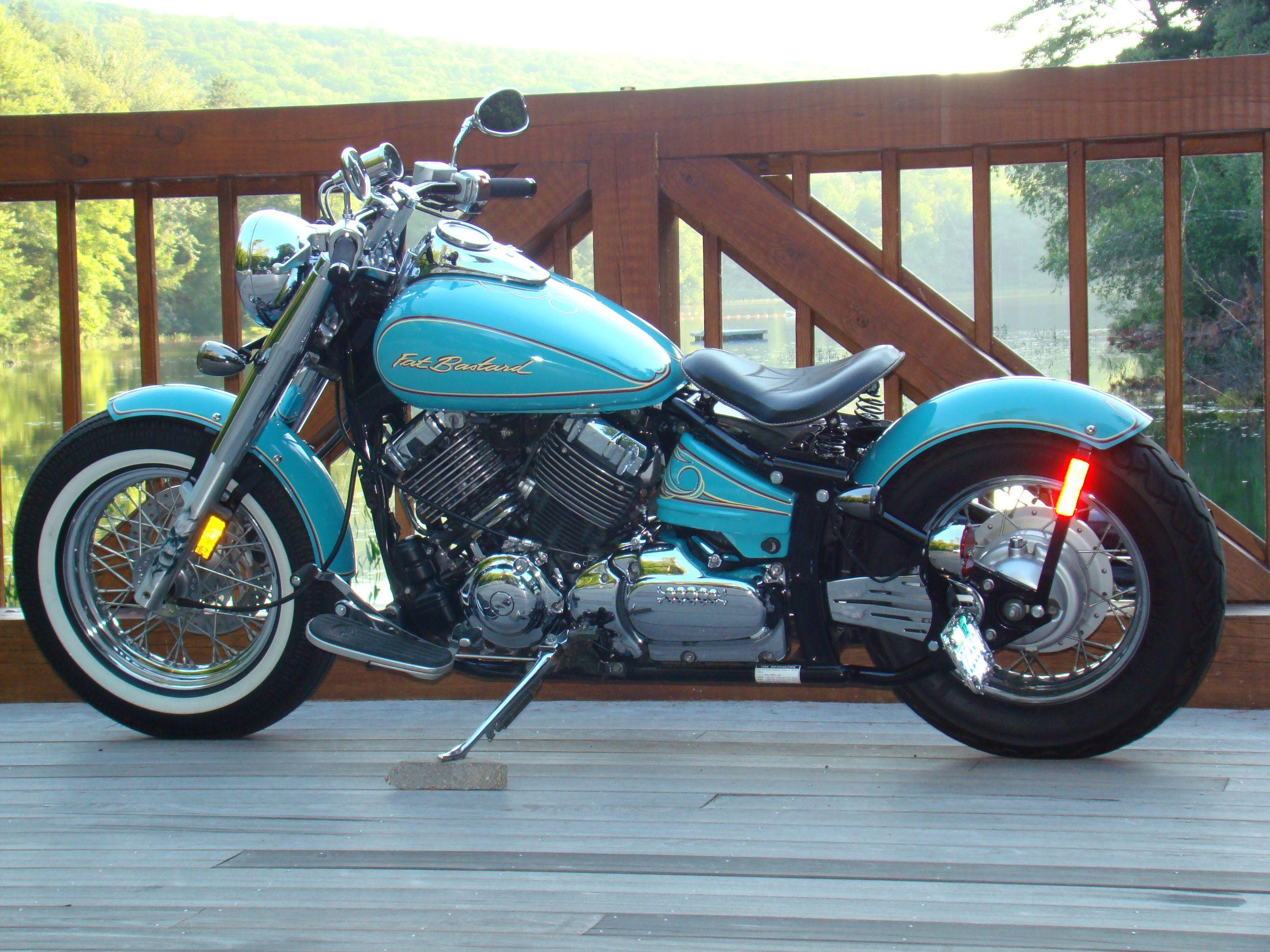 Motorcycle cruiser see more yamaha 2006 v star silverado classic fat bastard
