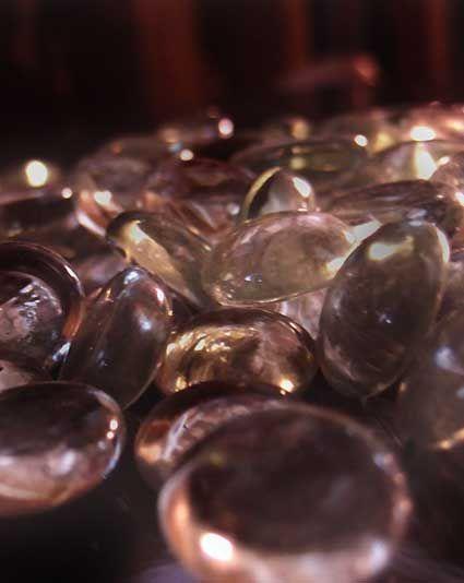 Glass Gems Vase Filler Champagne Pink Pebbles Pinterest