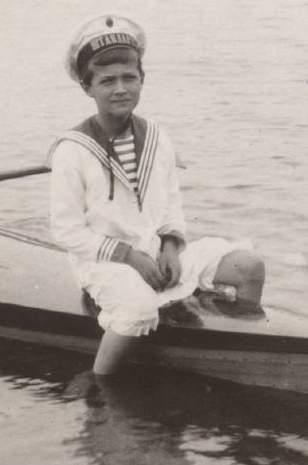 Tsarevitch Alexei Romanov.