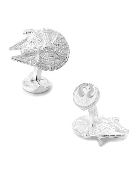 Make the Kessel Run in less than twelve parsecs with these cuff links. Check out our gift guide for more: http://tinyurl.com/jl9g9zb