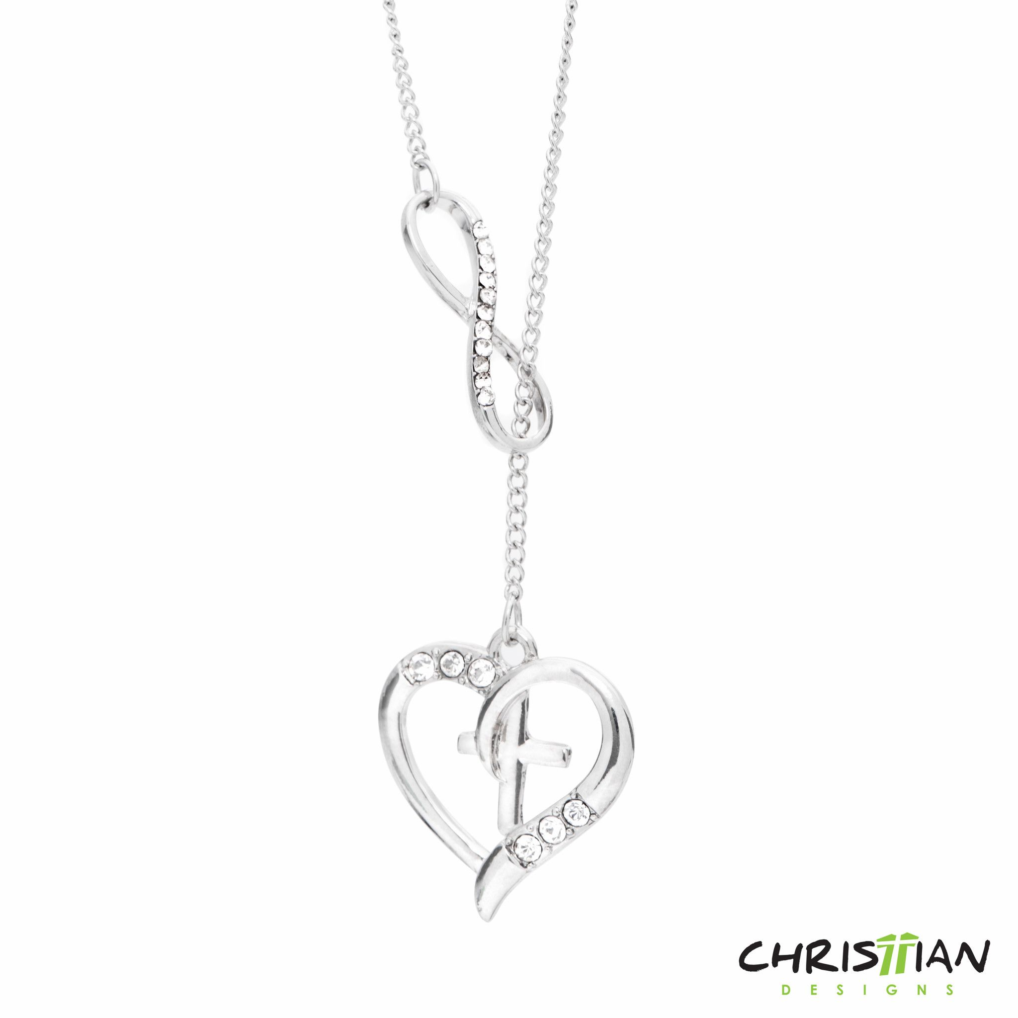 jewelry the pendant sterling jensen silver pendent products enlarged infinity necklace georg necklaces