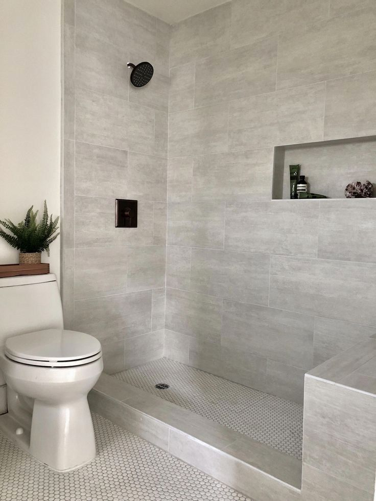 33 Tile Ideas For Small Bathrooms 29 Related Master Bathroom Shower Bathroom Remodel Shower Small Bathroom