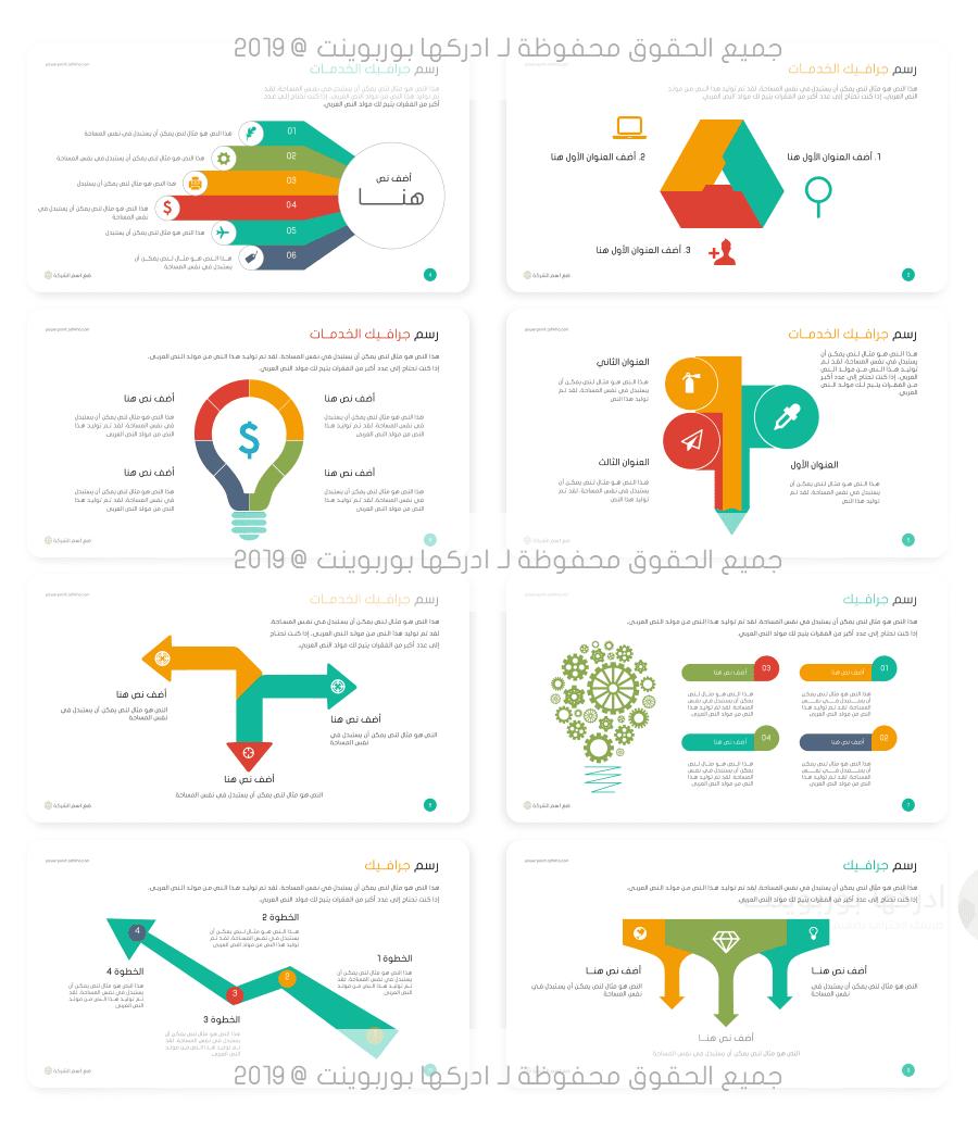 قوالب بوربوينت جاهزة مجانية Powerpoint Presentation Infographic Templates Activities For 2 Year Olds