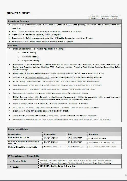 curriculum vitae profesional word Sample Template Example - job manual template