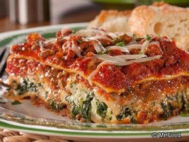 No fuss lasagna pasta dishes and recipes dinners forumfinder Choice Image