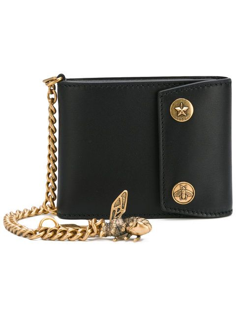 4ff46618a GUCCI Chain And Bee Wallet. #gucci #wallet | Gucci Men | Wallet ...