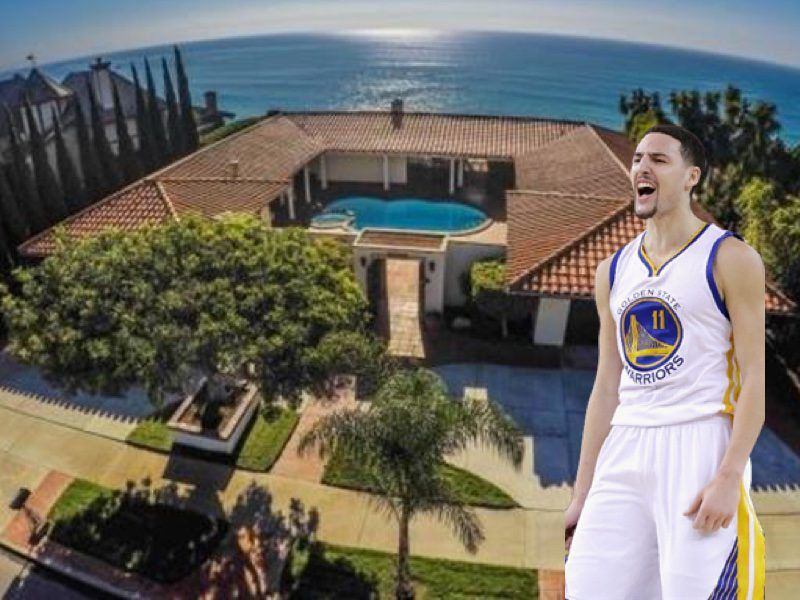 size 40 40ca9 aeffe NBA Homes: Klay Thompson's House in Dana Point, CA (Pictures ...