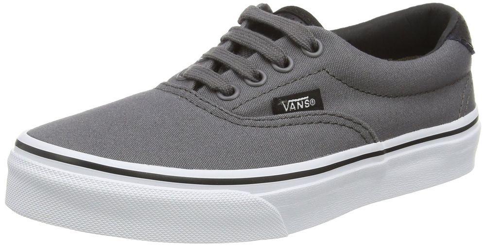 47db95bf6c7c07 eBay  Sponsored Vans Kid s CP Era 59 Shoe Pewter Black (1 Little Kid ...