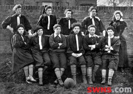 Mrs Graham's XI - Scottish Suffragettes football team ...