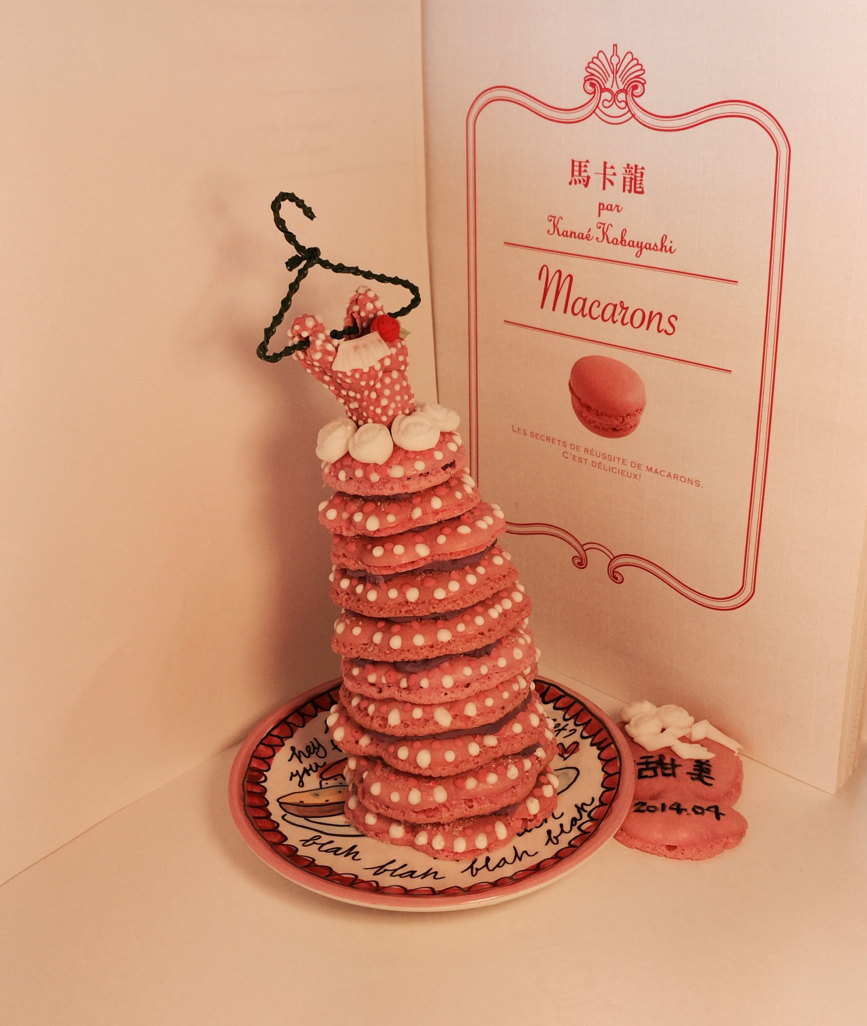 ⭐️https://www.facebook.com/timmymacaroons ⭐️Cute Macaron⭐by Love Macaroons⭐️馬卡龍 婚紗 Wedding Dress