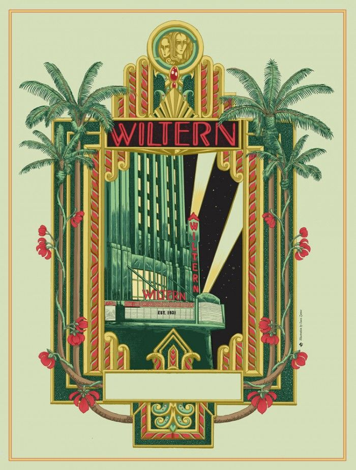 Wiltern Theatre by Luca Zamoc