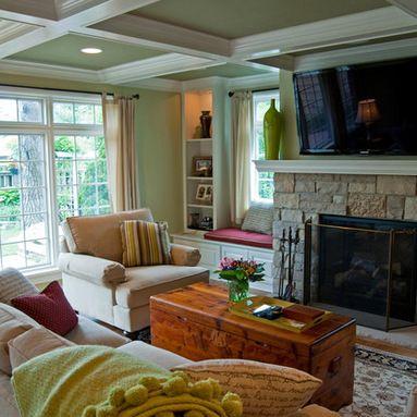 Tour of Remodeled Homes - 2013 - traditional - Living Room - Milwaukee - Milwaukee/NARI Home Improvement Council, Inc.