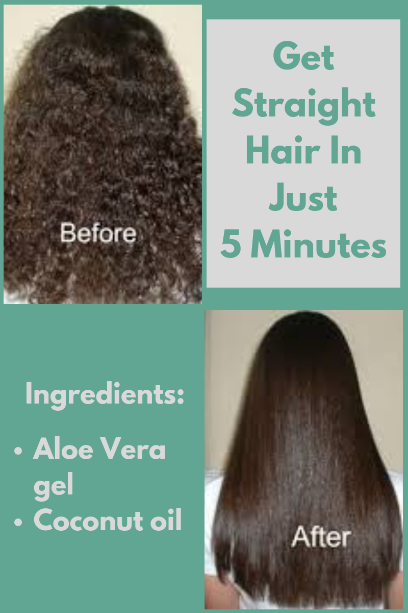 Get Straight Hair In Just 5 Minutes Without Heat Straighthair Hair Longhair Haircare Hairtips Hair Straight Hairstyles Hair Without Heat Hair Smoothening
