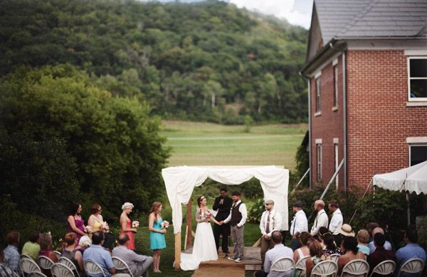 Outdoor Minneapolis Wedding - Minneapolisbride.com