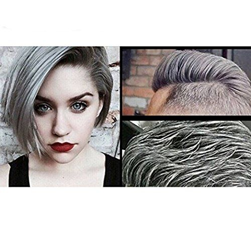 Temporary Silver Gray Hair Wax Pomade for Men and Women, Luxury ...