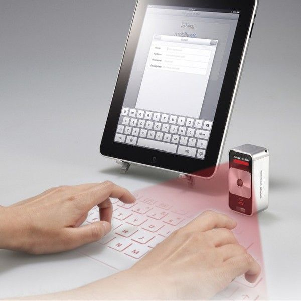 Celluon Magic Cube  Virtual Projection Keyboard. OMG this is cool! krystels123