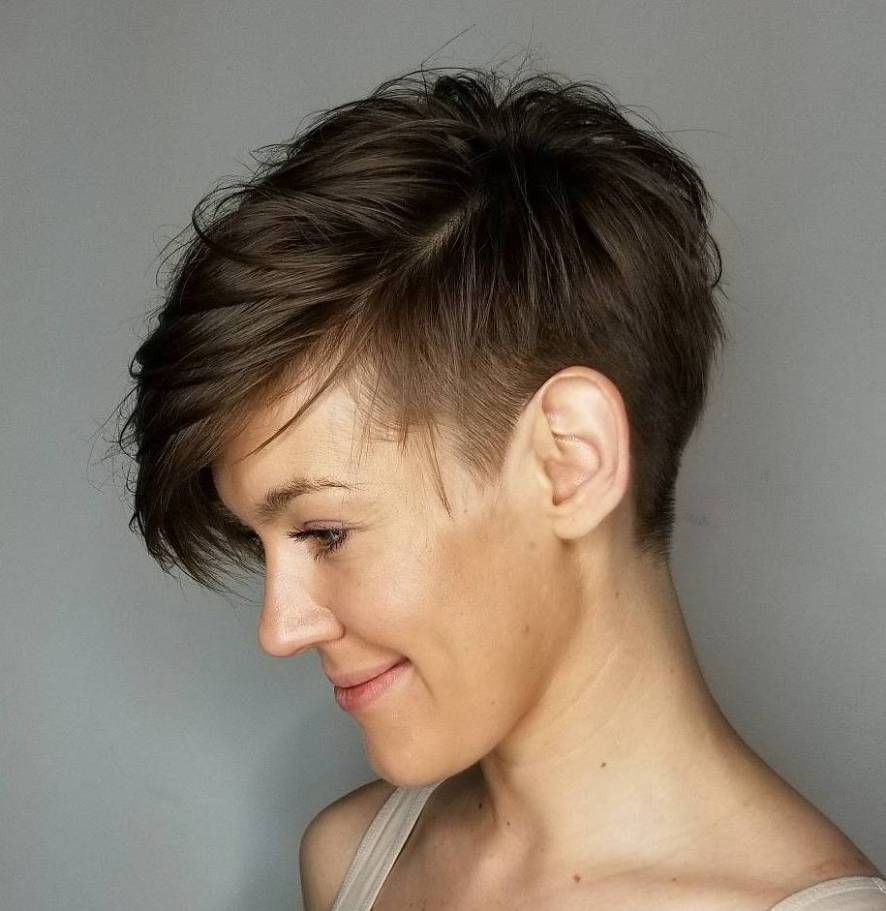 statement androgynous haircuts