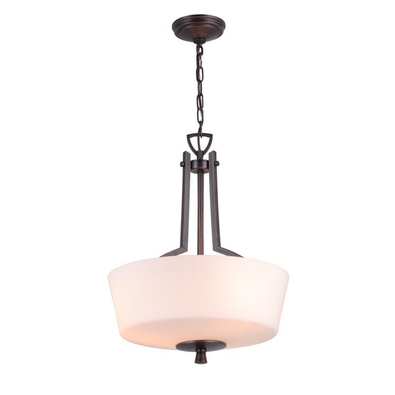 Dvi Lighting Dvp7220 Georgetown Three Light Bowl Pendant Oil