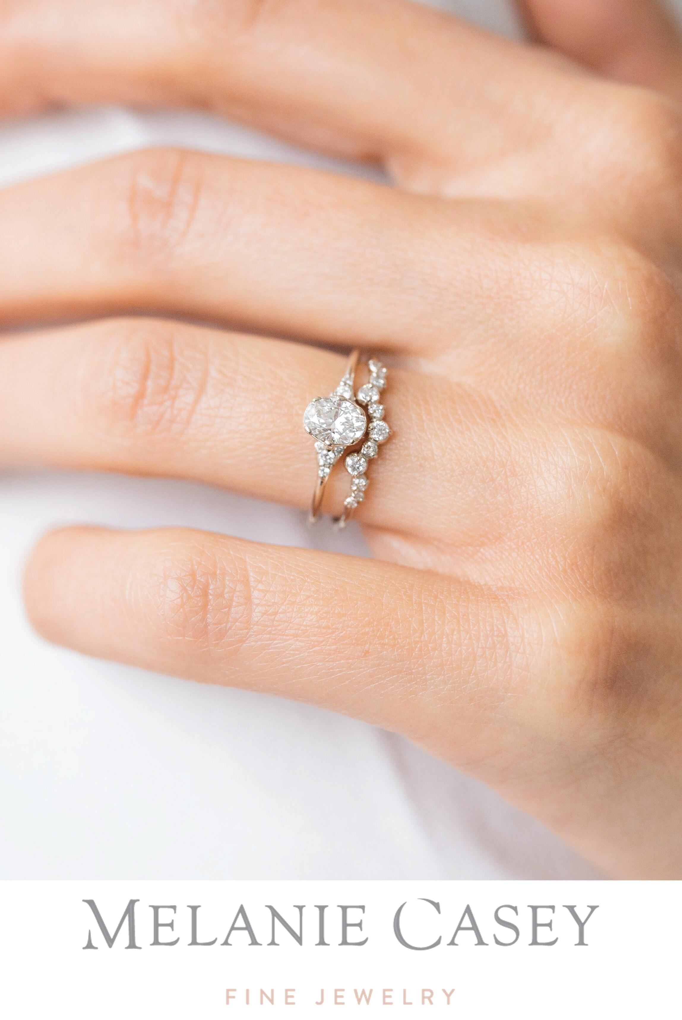 Oval Lady S Slipper Ring 0 5ct Diamond In 2020 Wedding Rings Rose Gold Dream Engagement Rings 14k White Gold Engagement Rings