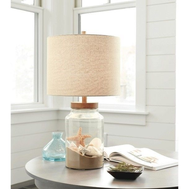 New Tall Fillable Clear Glass Table Lamp T1 In 2019 Loving The Diy