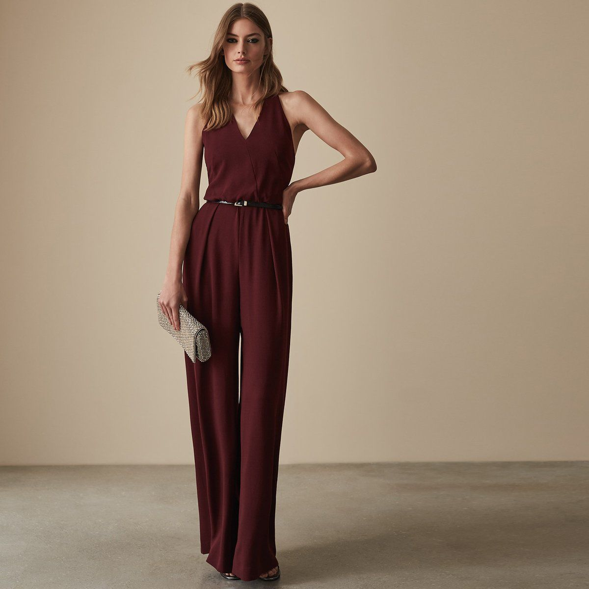 8a85e3bc81a The kadie beaded strappy jumpsuit in plays its part in our iconic jumpsuits  collection and is available to buy online at REISS.