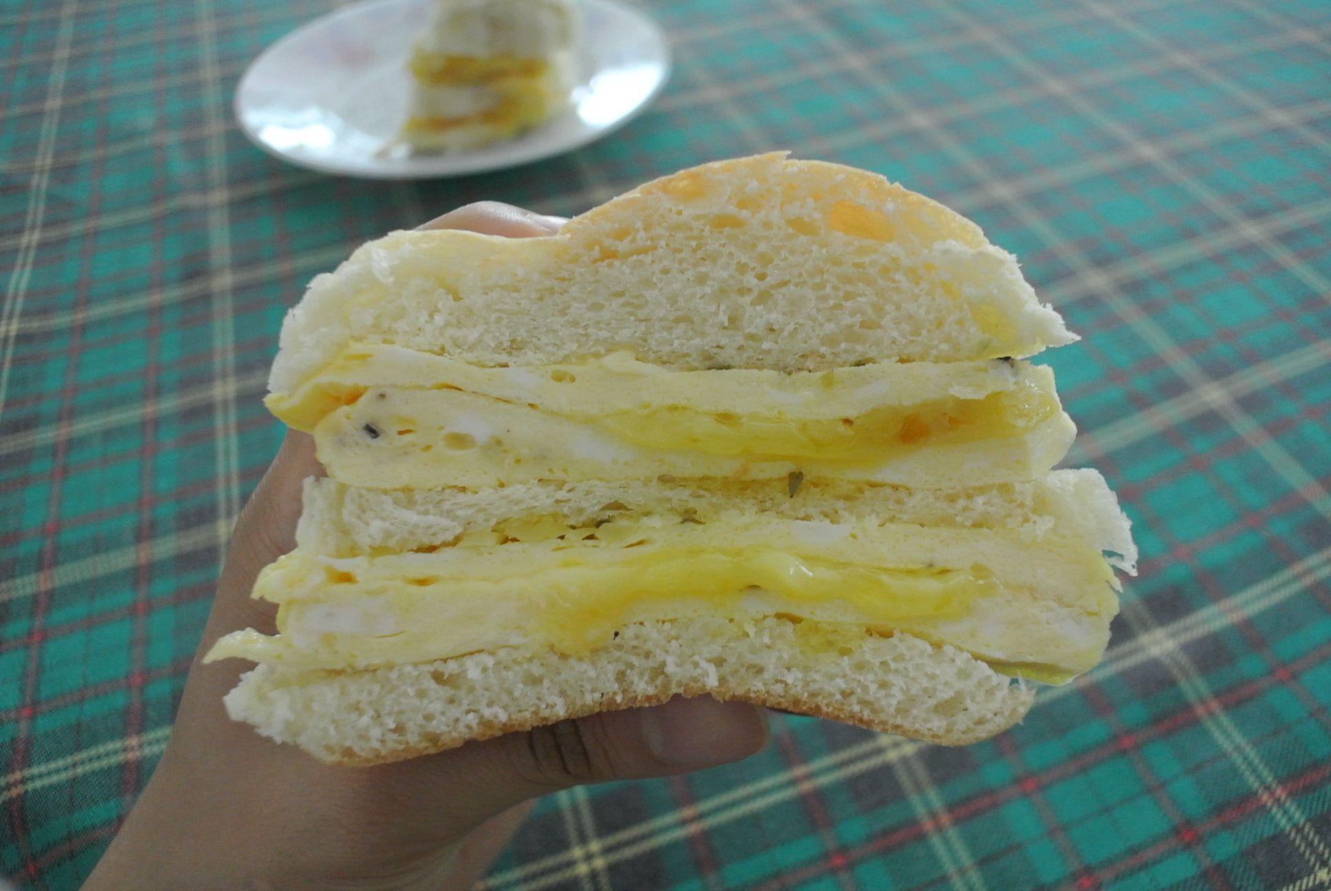 Image result for Bun Omelette With Cheese