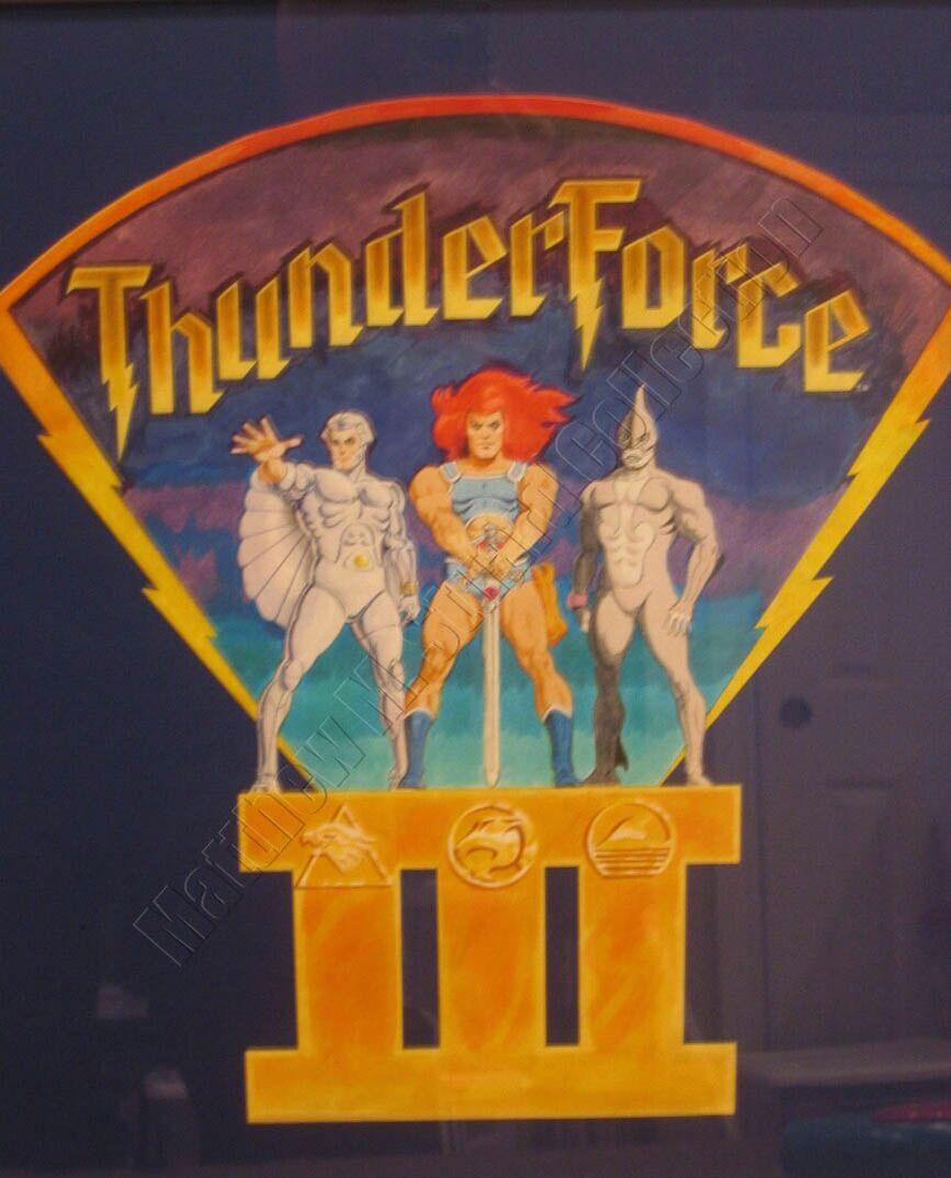 Thunderforce Thundercats Comic Movies Cartoons 80s 90s